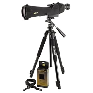 Nikon Prostaff 5 20-60x80mm Fieldscope Straight Spotting Scope Outfit 6982 by Nikon