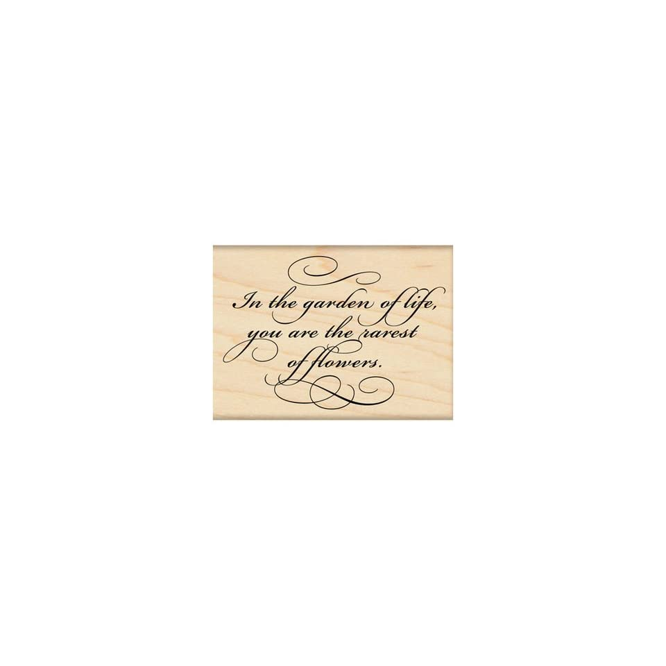 Penny Black Rubber Stamp 2X2.75 Garden Of Life
