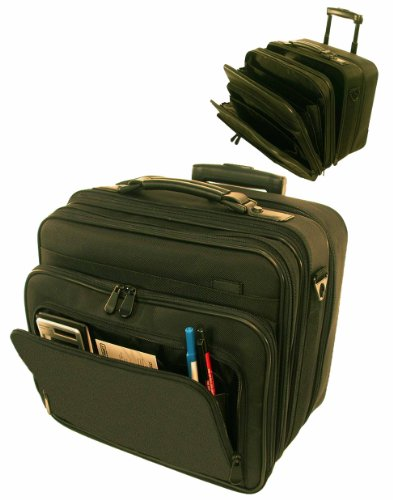 Ballistic Rolling Business Travel Briefcase/computer Case Office on Wheels