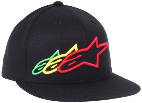 ALPINESTARS Men's Triple Play 210 Hat, Black, Small/Medium