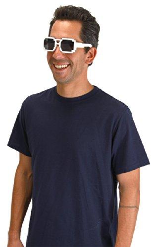 Elope 8-Bit Sunglasses, White - 1