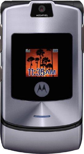 T�l�phone GSM MOTOROLA RAZR V3I GRIS