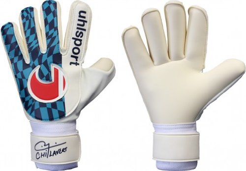 Uhlsport Retro Revolution (Chilavert) Goalkeeper Gloves uhlsport eliminator soft supportframe goalkeeper gloves