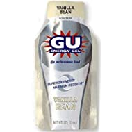 GU Sports Energy Gel - Box of 24 (Vanilla Bean)