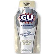 GU Sports Energy Gel - Box of 24 (Vanilla Bean)