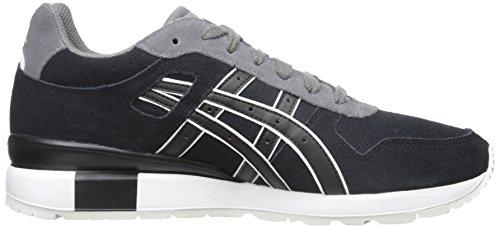 ASICS GT II Retro Running Shoe, Black/Black, 9.5 M US