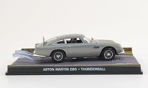 Aston-Martin-DB-5-met-grau-James-Bond-007-1965-Modellauto-Fertigmodell-SpecialC-007-143