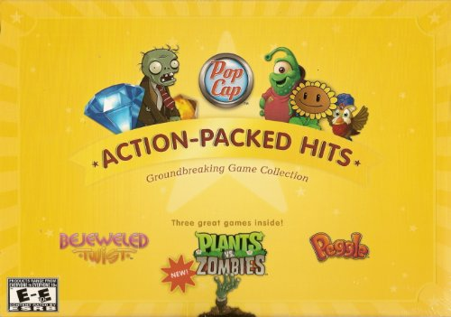 Pop-Cap Action-Packed Hits - 3 Computer Video Games