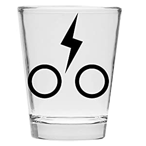 Shot Glass - Minimalist - Inspired by Harry Potter