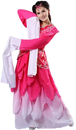 Chinese Style Stage Costume Women's Dancing Dress Halloween Cosplay HanFu