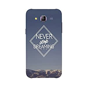 Back cover for Samsung Galaxy J1 Ace Never Stop Dreaming 4