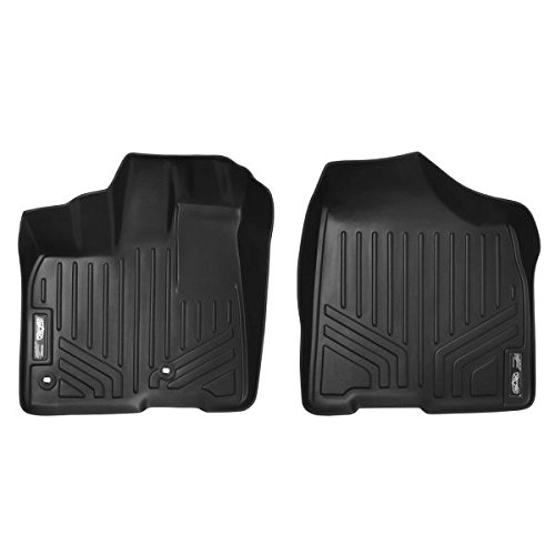Maxliner MAXFLOORMAT First Row Custom Fit All Weather Floor Mats For Select Toyota Sienna Models - (Black)