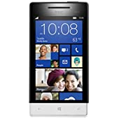 HTC Windows Phone 8S UK Sim Free Smartphone - White/Black