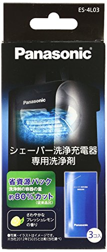 파나소닉 람대쉬 아크5 면도날 세척제 Panasonic Special Detergent for ES-LV95 Shaver Cleaning & Charging System