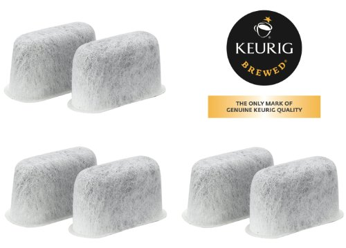 Keurig 05073 Replacement Charcoal Water Filters for Keurig Coffee Machine Coffee Maker (6 Simply Aqua Filter Cartridges)