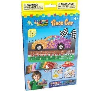 The Orb Factory Sticky Mosaics Sticky Mosaics Singles Race Car