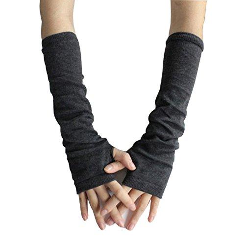 Bluelans-Armstulpen-Pulswrmer-lange-fingerlos-Handschuhe-Damenhandschuhe-Winterhandschuhe-Fustlinge-Fausthandschuhe