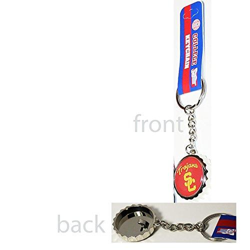 USC Trojans Bottle Cap Opener Keychain (Usc Bottle Opener Keychain compare prices)