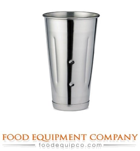Tablecraft 64E Malt Cup 30 oz. stainless steel - Case of 12