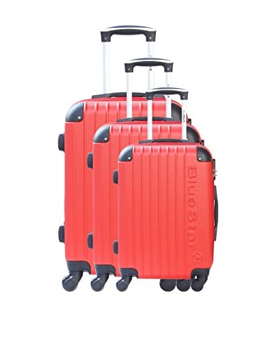 BLUESTAR Set de 3 trolleys rígidos BD-12717