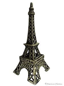Chic Metal 13 Iron Statue French Decor Paris