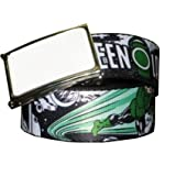 Comic Strip Green Lantern Printed Web Belt w/Buckleby DC Comics