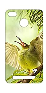 Vogueshell Bird Printed Symmetry PRO Series Hard Back Case for xiaomi Redmi 3s