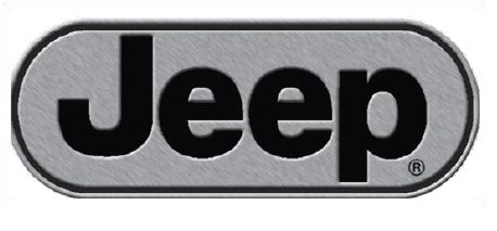 Best Price! Jeep Logo Car Metal Brushed Chrome Hitch Plug Receiver Cover