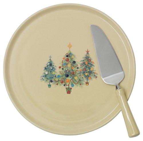 Christmas Tree Cake Plates