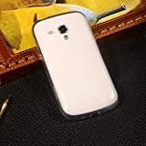 Paybydaddy® Ultra Thin 0.3mm Clear Transparent Flexible Soft TPU Slim Back Case Cover For Samsung Galaxy S Duos...