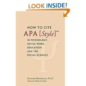 cite a book apa style