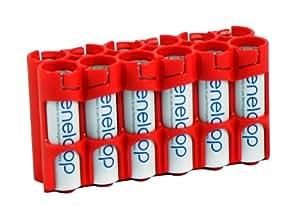 12er Pack Sanyo Eneloop Akkus MIGNON AA (UTGB) Akku Batterien in JAPCELL by PowerPax TOP-Qualität-Akkubox