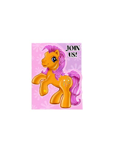Amscan My Little Pony Invitations (8)