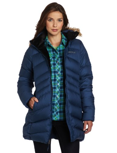 Marmot Women's Montreal Insulated Down Coat - Blue Ink, Medium