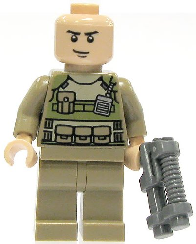 Lego Super Heroes Colonel Hardy Minifigure - 1