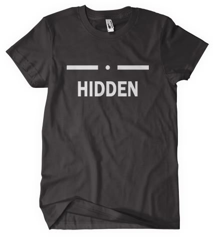 Skyrim T shirt Inspired by the Game Hidden in Black