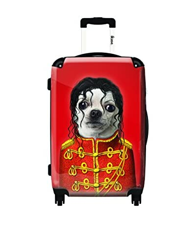 Ikase Pop Artwork 1 Rolling Luggage, Multi, 10X16X24