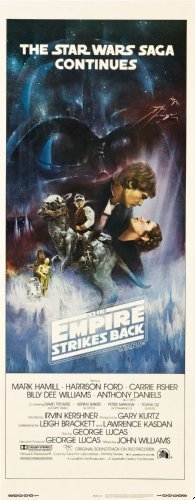 Empire Strikes Back Movie Poster Insert 14x36 (Movie Insert compare prices)