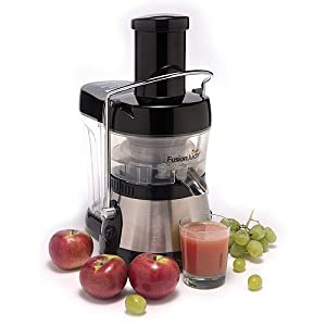 Fusion Juicer, Black stainless Steel by Fusion