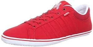 K-Swiss HOF IV T VNZ 03015-631-M, Herren Sneaker, Rot (Red/White), EU 42.5 (UK 8.5)
