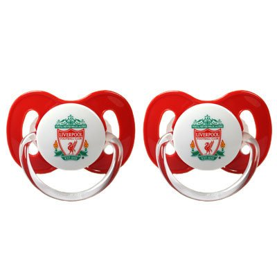 Liverpool FC Dummies / Soothers – Football Gifts