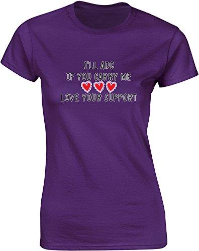 love-your-support-mesdames-t-shirt-imprime-pourpre-blanc-transfert-2xl-98-102cm
