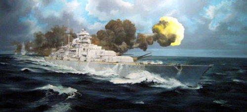 Trumpeter-03702-Modellbausatz-Bismarck