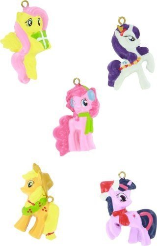 My Little Pony Kurt Adler 5-Piece Resin Ornament Set - 1