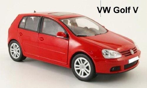 BBurago 18-11009 - Diamond Collezione 1:18 Volkswagen Golf V rot