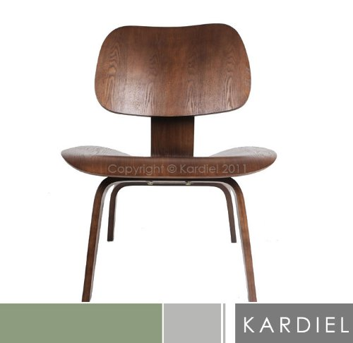 kardiel eames style plywood chair walnut stain cheap best price