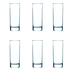 Arcoroc Islande Highball Tumbler Set, 290ml, Set of 6, Transparent
