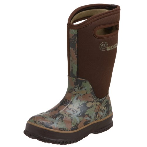Bogs Youth Classic High Bugs Chocolate Wellingtons Boot 52053 1 UK