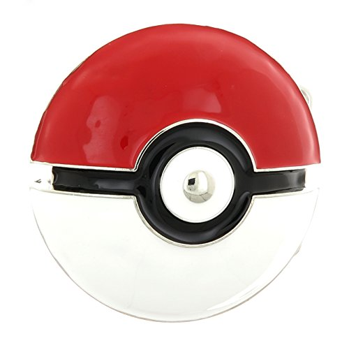 Pokemon Go Poke Ball Enamel Belt Buckle (Pokemon Belt Buckle compare prices)