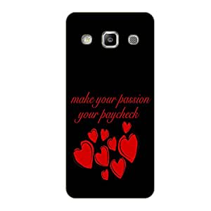 Vibhar printed case back cover for Samsung On5 Paychk